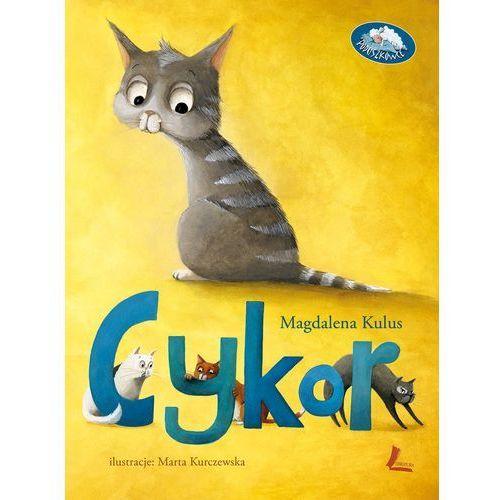 Książki dla dzieci, Cykor - Magdalena Kulus (opr. twarda)