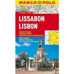 Lizbona / Lisboa 1:15 000. Laminowany plan miasta. Marco Polo (opr. miękka)