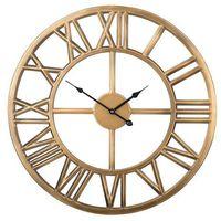Zegary, Zegar ścienny stare złoto NOTTWIL
