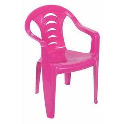 Krzesełko ogrodowe dla dzieci Tola różowe OŁER GARDEN