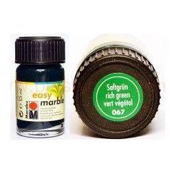 Farba do marmurkowania Easy Marble Marabu 15 ml - 067 Saftgrun