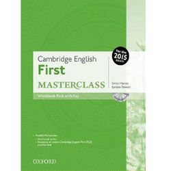 Cambrigde English First Masterclass WB+key 2015 /CD gratis/
