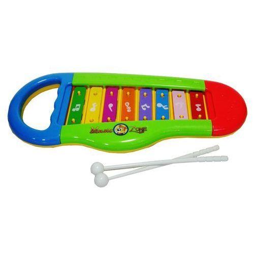 Instrumenty dla dzieci, Zabawka SWEDE Cymbałki w worku