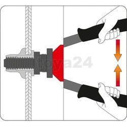Nitownica ręczna do nitonakrętek m5, m6, m8, m10,m12 330 mm / YT-3612 / YATO - ZYSKAJ RABAT 30 ZŁ