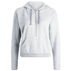 Calvin Klein Underwear HALF ZIP HOODIE Koszulka do spania grey