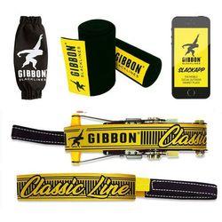 GIBBON Classicline XL Zestaw Treewear, żółty 2021 Slackline - zestawy
