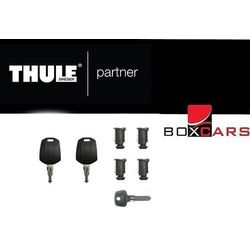 Thule Locks, One key system, 4x