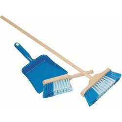 Niebieski zestaw do sprzątania