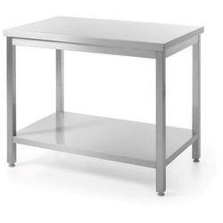 Stół roboczy centralny z półką, 1800x600x850 mm | HENDI, Bistro Line