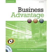 Książki do nauki języka, Business Advantage Upper Intermediate Personal Study Book with Audio CD (opr. miękka)