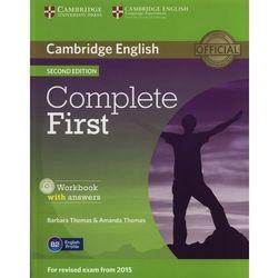 Complete First 2nd Edition. Ćwiczenia z Kluczem + CD (opr. miękka)