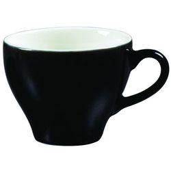 Filiżanka do cappuccino 200 ml, czarno-biała | ARIANE, Amico Cafe