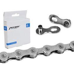 Łańcuch Accent AC-1003 10-rzędowy srebrny