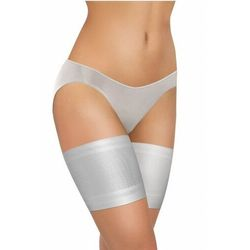 Sesto senso thigh bands gładka biała opaska na uda