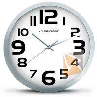 Zegary, Esperanza Zegar ścienny Zurich biały (EHC013W) Darmowy odbiór w 21 miastach!