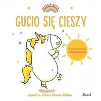 Książki dla dzieci, Uczucia Gucia. Gucio się cieszy (opr. twarda)
