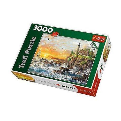 Puzzle, Puzzle TREFL 33044 Zachód nad skalistym wybrzeżem (3000 elementów)