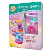 Kreatywne dla dzieci, Magic Slime Candles świece żelowe STnux