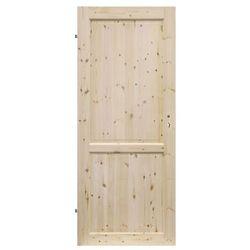 Drzwi pełne Radex Lugano 70 lewe sosna surowa
