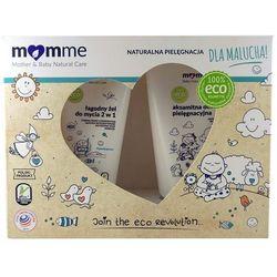 Zestaw: Żel 2w1 (150 ml) + Aksamitna Oliwka Pielęgnacyjna (100 ml) - MomMe