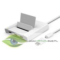 Unitek HUB 3x USB 2.0 + Fast ethernet; Y-2175