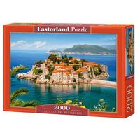 Puzzle, Puzzle 2000 elementów. Sveti Stefan, Montenegro