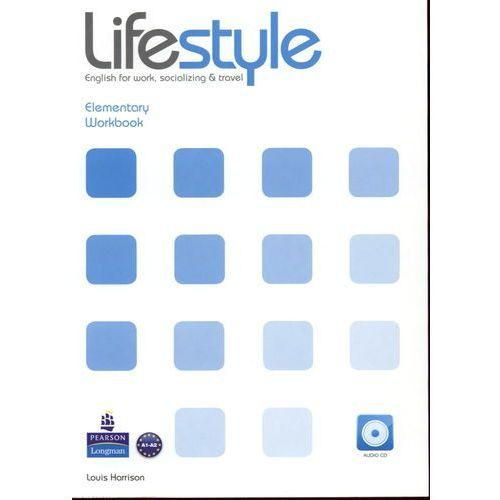 Książki do nauki języka, Lifestyle Elementary, Workbook (zeszyt ćwiczeń) plus Audio CD (opr. miękka)