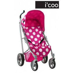 Hauck Wózek sportowy dla lalek Icoo Pluto, kropki
