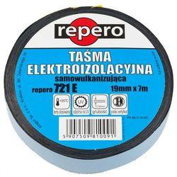 REPERO 721 Taśma izolacyjna samowulkanizująca trójwarstwowa z przekładką 19mm x 3m; grubość: 0,51mm