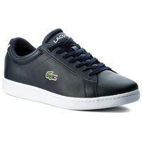 Męskie obuwie sportowe, Sneakersy LACOSTE - Carnaby Evo Bl 1 Spm 7-33SPM1002003 Nvy