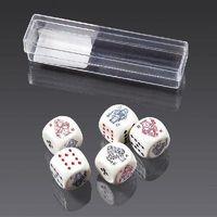 Gry dla dzieci, Kości do gry Piatnik Pokerowe 16mm