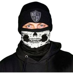 SA Co. Chusta Wielofunkcyjna Frost Tech™ Face Shield™ Half Skull - Half Skull