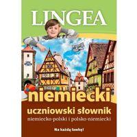 Książki do nauki języka, Niemiecki Słowniik uczniowski - Praca zbiorowa (opr. miękka)