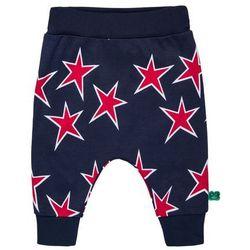 Fred's World by GREEN COTTON BABY STAR FUNKY PANTS Spodnie materiałowe navy