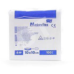 Kompresy z wkniny Matovlies niejałowe 10 x 10cm-100 szt.