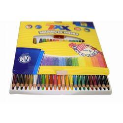 Kredki Astra Ołówkowe Heksagonalne 24 Kolory Grafit 4Mm