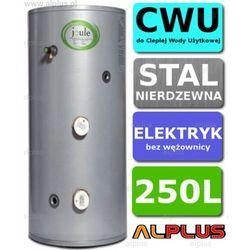 Bojler elektryczny 250L JOULE CYCLONE DIRECT nierdzewka grzałka 2x3kW podgrzewacz CWU bez wężownicy Wysyłka gratis!
