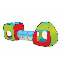Namiot 3-elementowy Kostka-tunel-iglo
