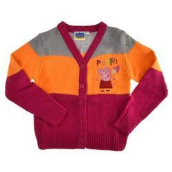 Sweter dziecięcy rozpinany Świnka Peppa świnka peppa (-40%)