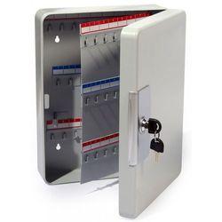 Solidna metalowa szafka na 100 kluczy szara - Autoryzowana dystrybucja - Szybka dostawa