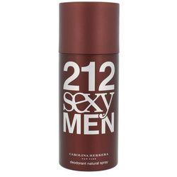 Carolina Herrera 212 Sexy Men dezodorant w sprayu dla mężczyzn 150 ml + do każdego zamówienia upominek.