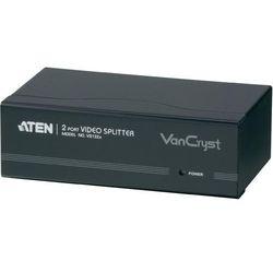 Splitter VGA ATEN, 2 Porty, wbudowany repeater