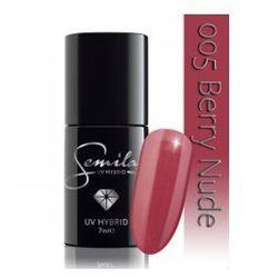 Semilac lakier hybrydowy 005 Berry Nude, 7ml