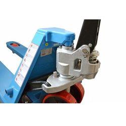 WÓZEK PALETOWY PALECIAK WIDŁOWY MAGAZYNOWY AC25 (HPT-A) KRÓTKI 2500 kG - 800mm z HAMULCEM promocja (-4%)