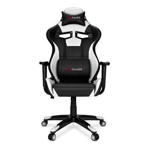 Fotele dla graczy, Fotel gamingowy AGURI szary PRO-GAMER dla graczy