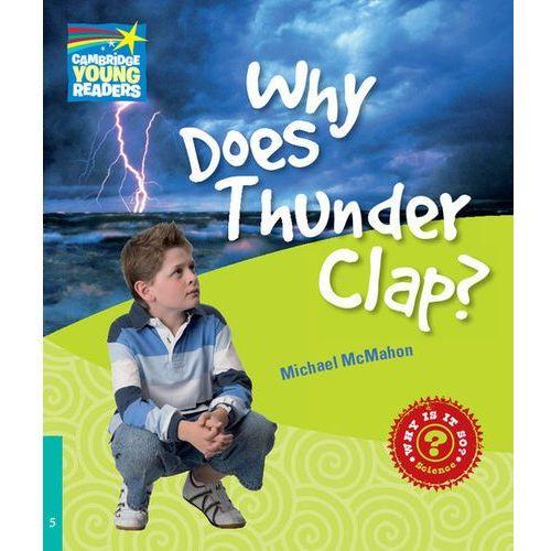 Książki do nauki języka, CYRF Why Does Thunder Clap? (lp) (opr. miękka)
