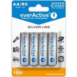 4x akumulatorki everActive R6/AA Ni-MH 2000 mAh ready to use