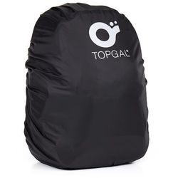 Pelerynka na plecak na notebook Topgal TOP 163 A - Black