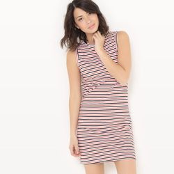 Krótka sukienka w paski