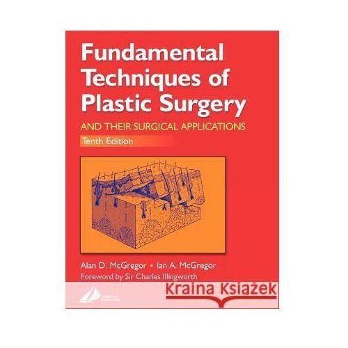 Książki medyczne, Fundamental Techniques of Plastic Surgery 10E (opr. miękka)